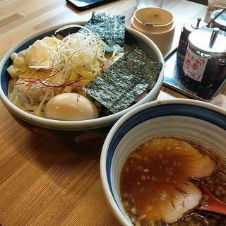 謹製極太平手打ちつけ麺(醤油)