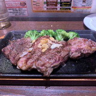 ワイルドステーキ450グラム(いきなりステーキ)