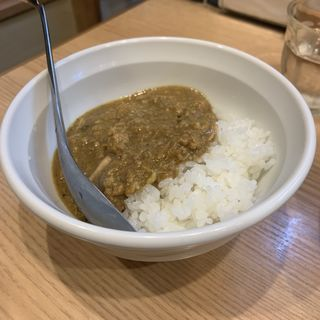 キーマカレー飯(ほっこり中華そば もつけ )