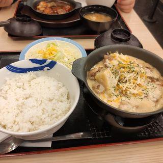 シュクメルリ鍋定食(松屋 野並店 )