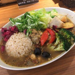 名古屋限定カレー+野菜倍量(はるかなるカレー 名古屋)