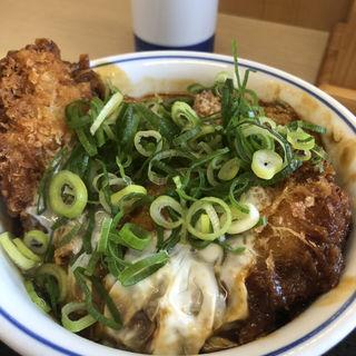青ねぎ味噌チキンカツ丼(かつや 大阪泉佐野店 )