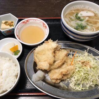 鶏天定食(さぬきうどん誠屋 )