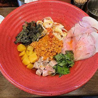 温製 汁なし味噌担担麺