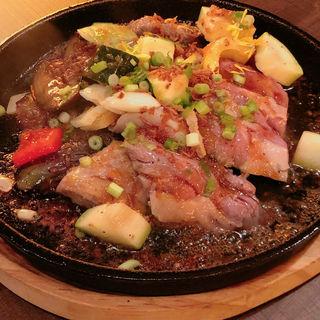 和牛いちぼのやわらかステーキ(肉と日本酒いぶり 神田店)