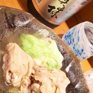 てびちと青菜のにつけ(Aticoco)
