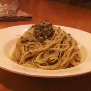 牡蠣のカッペリーニ 温製(Saborami)