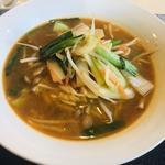 野菜ピリ辛汁そば(広東厨房 結杏〜yuan〜)