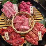 肉屋漆器盛り