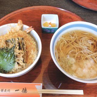 天丼セット(一徳)