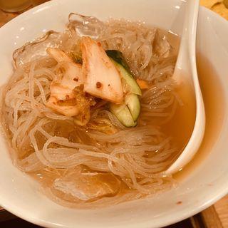 冷麺(焼肉天国やーるじゃんバル )