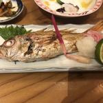 高級魚のどぐろ一尾塩焼き