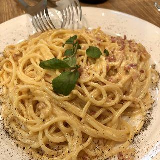 カルボナーラスパゲティ