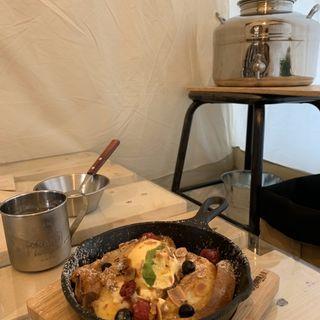フレンチトースト(ogawa GRAND lodge cafe)