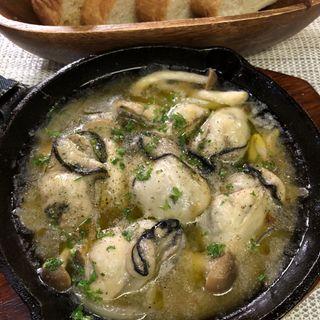 広島牡蠣のアヒージョ