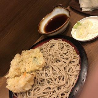 かき揚せいろ(かめや 神田東口店 )