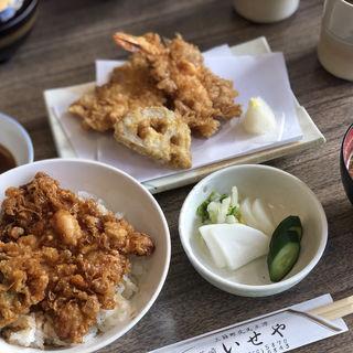 天ぷら天丼セット(Aセット)