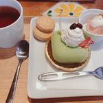 ふろ和〜じゅ  ケーキセット