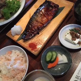 焼魚御膳(臥薪 大船)