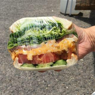 旬の素材のサンドイッチ(食パン専門店 利)