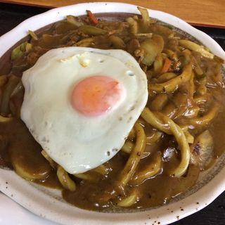 カレー焼きうどん(さつき )