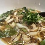 ホルモン刀削麺(刀削麺園)