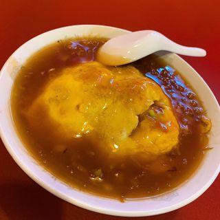 天津飯(紫原飯店 (ムラサキバルハンテン))