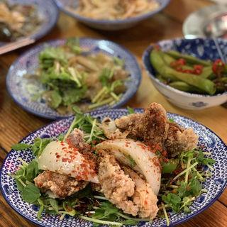 油淋鶏(鉄鍋餃子 餃子の山﨑)