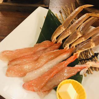 かにバター焼(かに道楽 新宿駅前店 (かにどうらく))