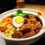 豚角煮の土鍋ごはん      日替わりランチ