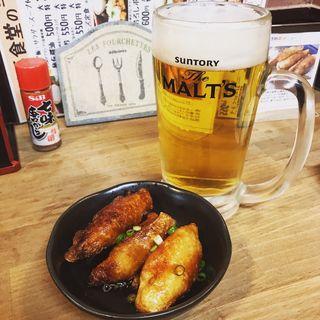 鶏皮餃子(鳥丸 新小岩店 (TORIMARU))