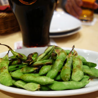 焼き枝豆 柚子胡椒風味(YEBISU BAR(ヱビスバー/エビスバー) 博多1番街店)