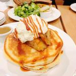 パンケーキ メープルバター