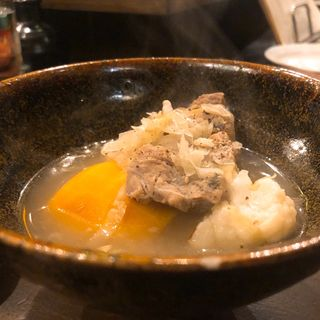 豚肉のザワークラウドの塩角煮