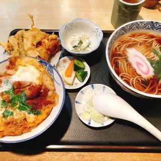 カツ丼セット(天乃屋 )