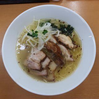 鶏ぶた塩拉麺