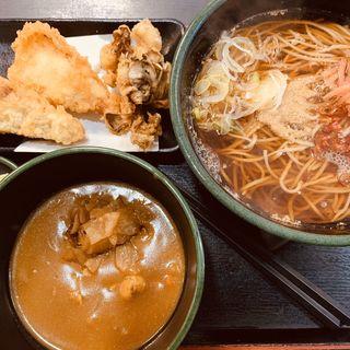 鶏舞茸天そば(ゆで太郎 本所吾妻橋店  )