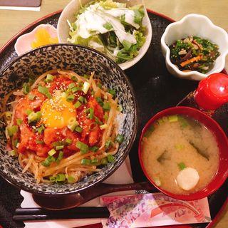 ネギトロ丼(なつかし家)