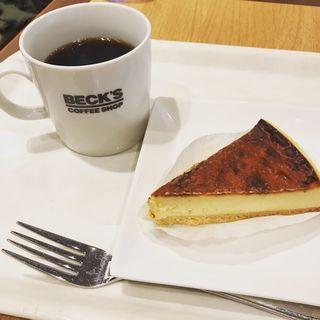 ケーキセット(ベックスコーヒーショップ 新小岩駅前店 )