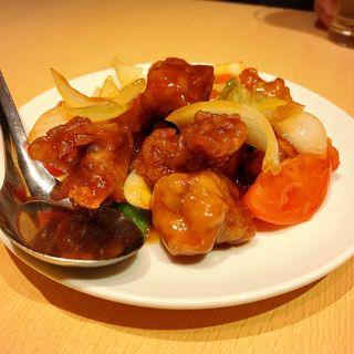台湾 酢豚(台湾料理 故宮 中目黒店)