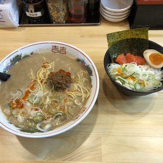 明太子ご飯セット(まるたん 香椎駅店)