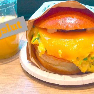フェアファックスサンドセット(eggslut 新宿サザンテラス店)