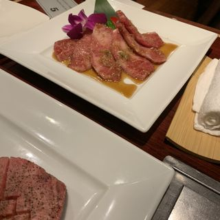 上カルビ 焼(叙々苑 銀座コリドー店)