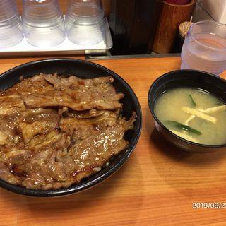 焼き牛丼(東京チカラめし 新宿西口1号店 )