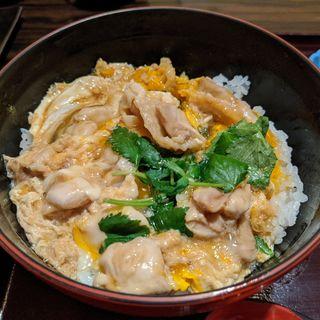 軍鶏親子丼(五鐵 夢境庵 (五鉄 ごてつ むきょうあん))