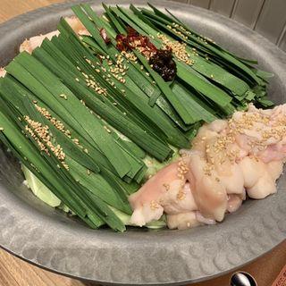 特製塩もつ鍋(清水 HONTEN (シミズ ホンテン))
