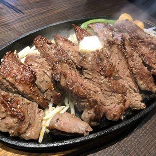 ハラミステーキ1ポンド(1ポンドの ステーキ ハンバーグ タケル 福島店 )