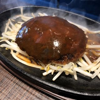 ハンバーグ(1ポンドの ステーキ ハンバーグ タケル 福島店 )