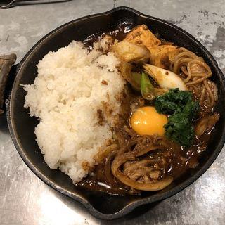 北海道産サロマ黒牛と長ねぎのすき焼きカレー