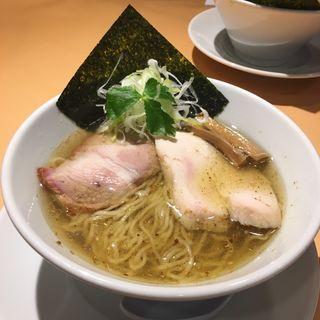 山椒香る塩そば(らぁ麺 蒼空)